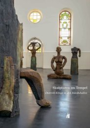 Dietrich Klinge - Skulpturen im Tempel