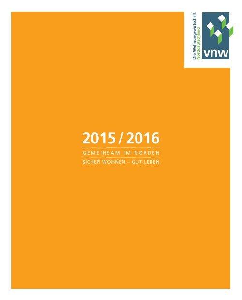 VNW-Tätigkeitsbericht - 2015
