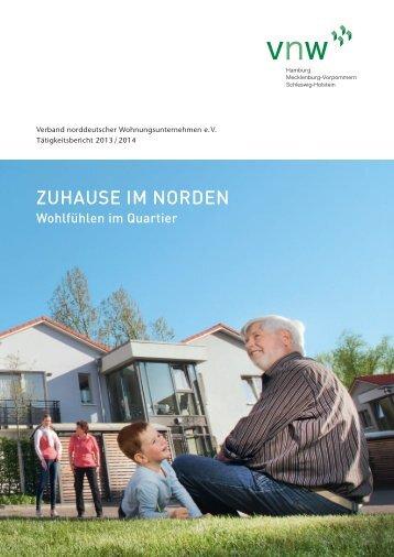 VNW-Tätigkeitsbericht - 2013