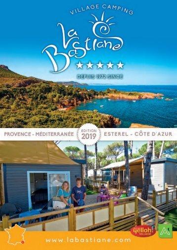 Brochure Camping La Bastiane 2019