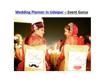 Wedding Planner in Udaipur