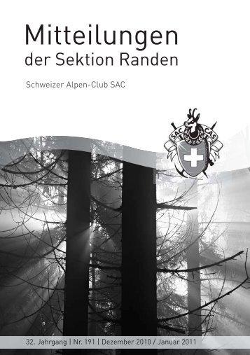 sportfonds kanton schaffhausen - SAC Sektion Randen