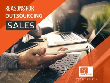 Reasons for Outsourcing Sales