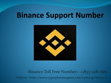 Issues In Creating An Account Dail Binance Phone Number