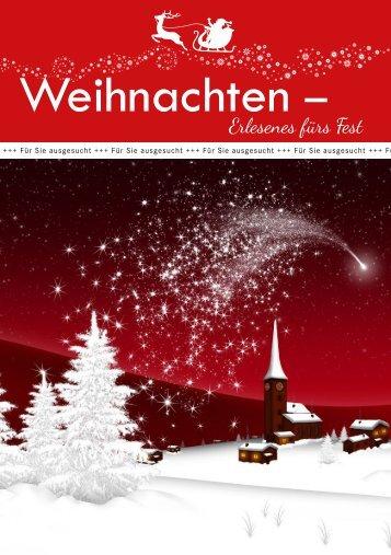 Weihnachten 2018 - Erlesenes fürs Fest