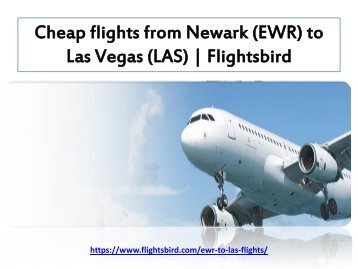 Book your cheap flights from Newark (EWR) to Las Vegas (LAS)