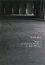 Dietrich Klinge - Tangere