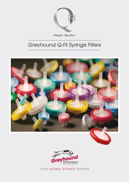 Greyhound Chromatography Q-Fil-Catalogue