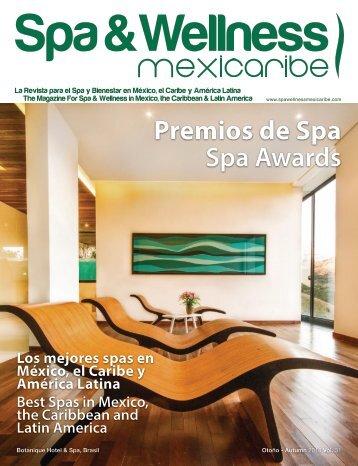 Spa & Wellness MexiCaribe 31, Autumn 2018