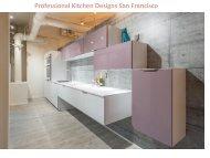 Professional Kitchen Designs San Francisco