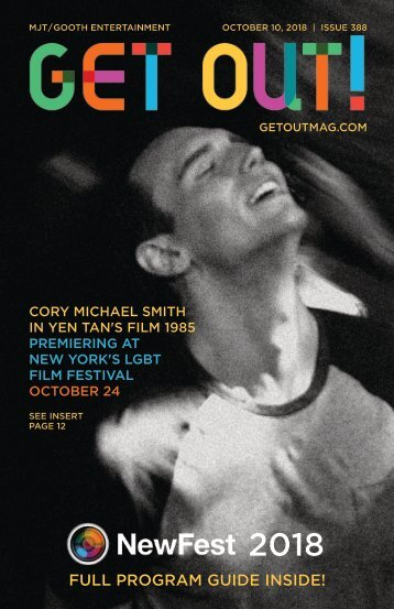 Get Out! GAY Magazine – Issue 388 –October 10, 2018