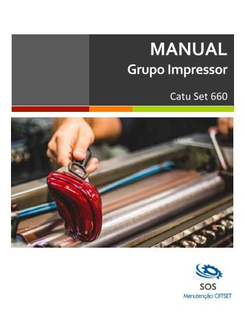 Manual do Grupo Impressor - Catu Set 660