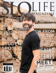 SLO LIFE Magazine  Oct/Nov 2018