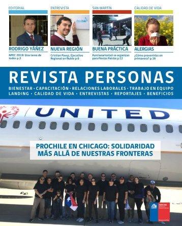 Revista Personas Septiembre 2018