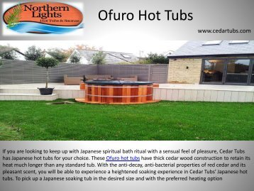 Best Quality Ofuro Hot Tubs