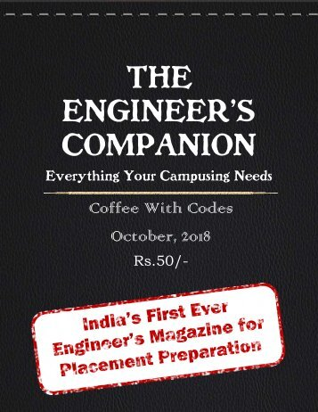 The Engineer's Companion-October Magazine Edition