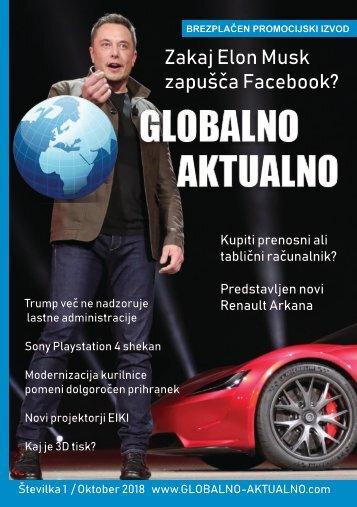 Globalno Aktualno Oktober 2018 - FINAL VERSION