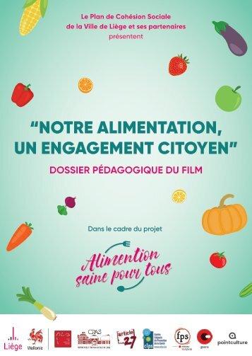 Dossier pédagogique - Notre alimentation, un engagement citoyen