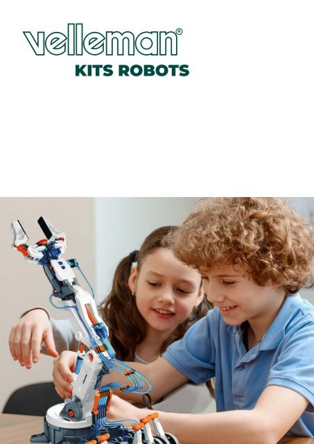 Velleman Robot Kits Catalogue - FR