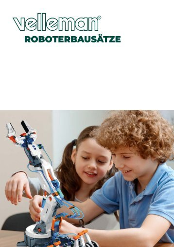 Velleman Robot Kits Catalogue - DE