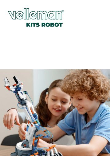 Velleman Robot Kits Catalogue - ES