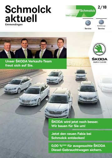 Schmolck aktuell ŠKODA 2018-02