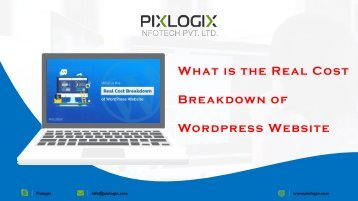 What is the Real Cost Breakdown of WordPress Website?