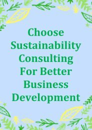 Choose Sustainability Consulting For Better Business Development-converted