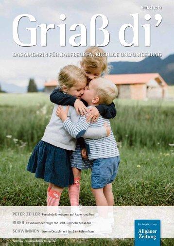 Griaß di' Magazin Herbst 2018