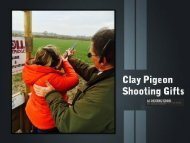 Clay Pigeon Shooting Gifts – The Best Offers of Aashootingschool.com