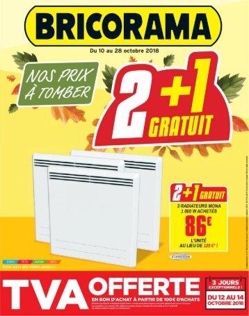 Bricorama catalogue 10 octobre-28 octobre 2018