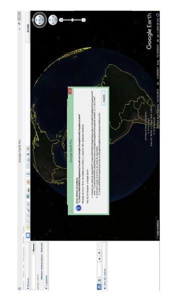 problemas google earth