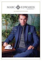 MarcEdwards Menswear Magazine FW2018