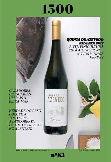 Revista 83 Clube Reserva 1500