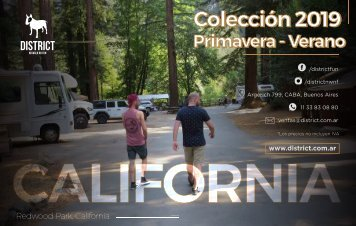 Catalogo Dstrict Verano 2019 California