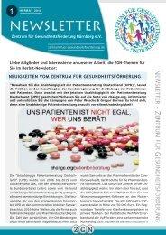 Newsletter Herbst 2018 | GZN