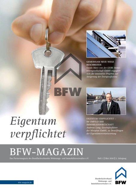 Eigentum verpflichtet - BVI Magazin