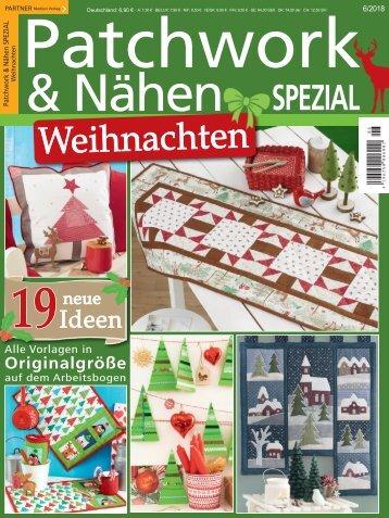 Patchwork & Nähen SPEZIAL Weihnachten 06/2018
