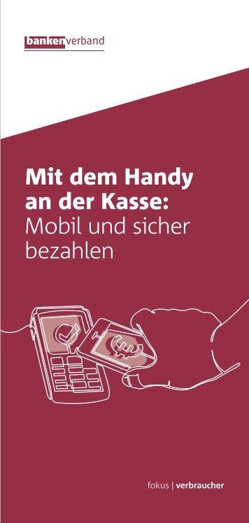 Mit dem Handy an der Kasse: Mobil und sicher bezahlen