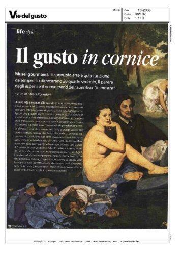 Il gusto in C0 - Open Colonna
