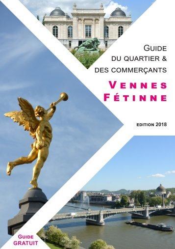 Brochure de présentation du quartier et des commerçants de Vennes Fétinne