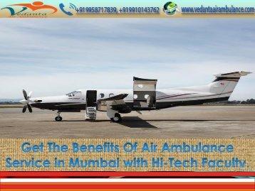 Trauma Handling Air Ambulance Service in Mumbai