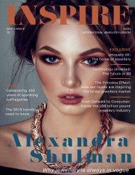 Inspire Magazine by International Jewellery London