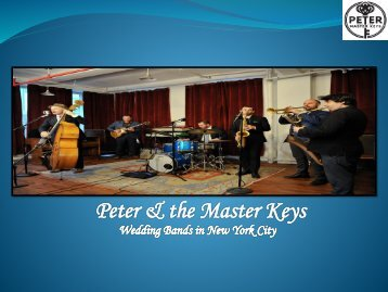 Hire professional wedding bands in New York City