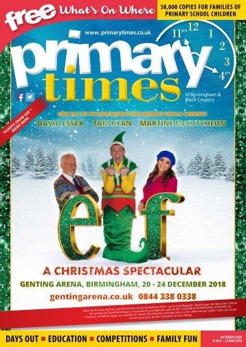 Primary Times Birmingham October 18