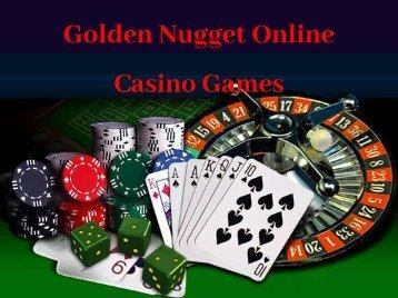 Golden Nugget Online Casino Games
