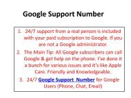 Google  Support Number 1(888) 264-6472 Google Technical Support Phone Number.pdf-converted
