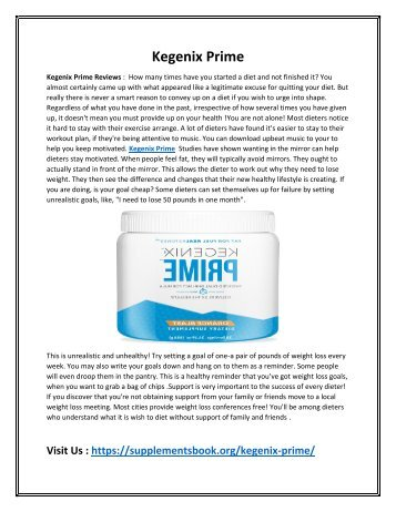 Kegenix Prime - Raise Your Metabolism To Burn the Excess Fat and Calories