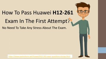 H12-261 Exam Questions