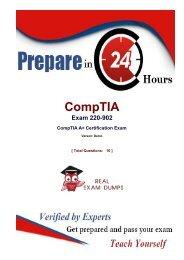 Download 2018 Actual CompTIA 220-902 Exam Study Material - 220-902 Dumps PDF